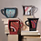 Thumbnail: Distressed Red Coffee Cup Shelf