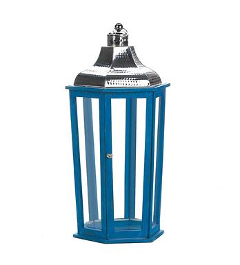 Azul Beach Large Lantern
