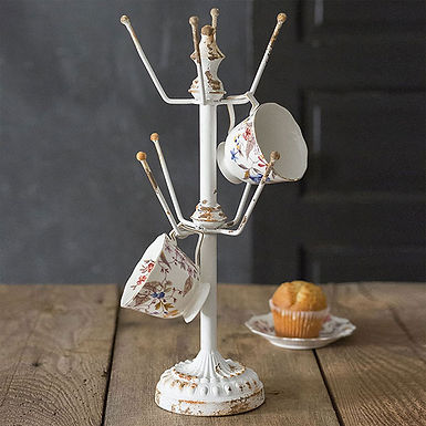 Display Stand with 8 Hooks
