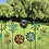 "Thumbnail: 78"" Spoon Solar Windmill Garden Stake"