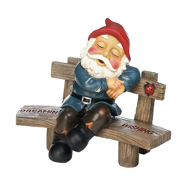 Dreaming & Wishing Gnome