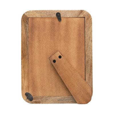 """Handmade Mango Wood Photo Frame (Holds 5"""" x 7"""" Photo)"""