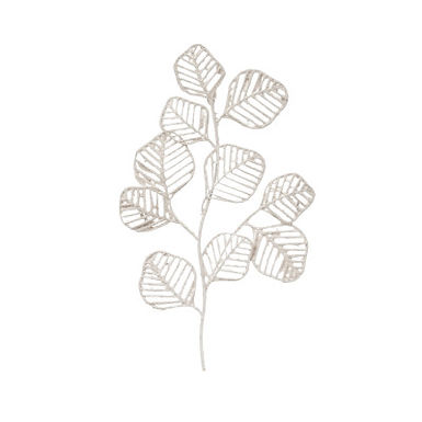 Handmade Paper & Metal 3-D Leaf Wall Decor