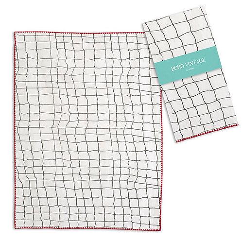 Maggie Tea Towel - Box of 4