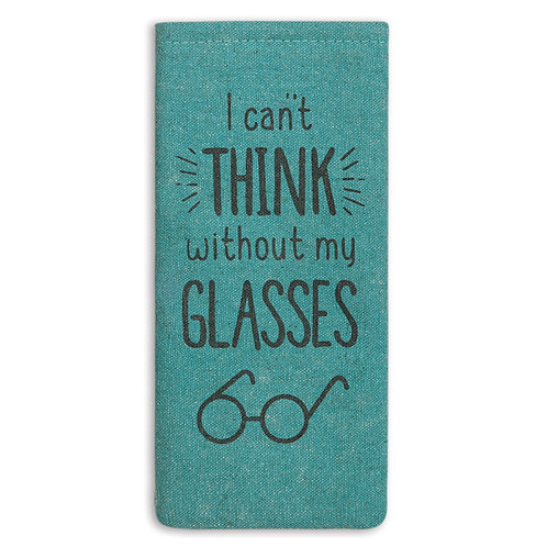Cant Think Eyeglass Case