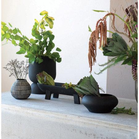 Mango Wood Bowl, Black