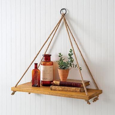 Boho Hanging Wall Shelf