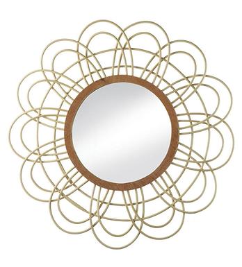 Daemono Rattan Loop Mirror