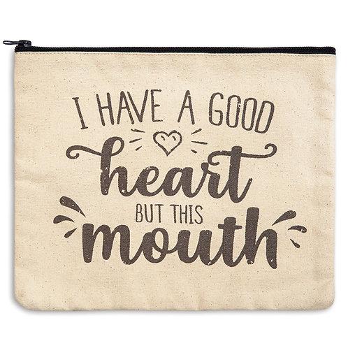 Good Heart Travel Bag