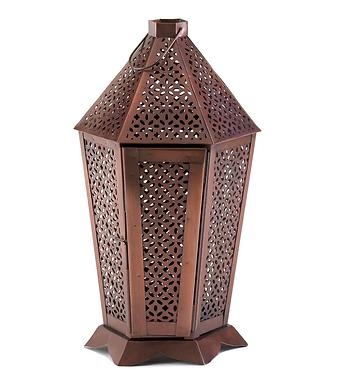 Byzantine Pewter Lantern
