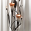 Thumbnail: Dawn Lilies Candle Wall Sconce