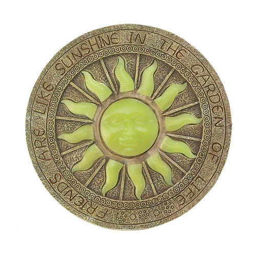 Bursting Sun Glowing Stepping Stone