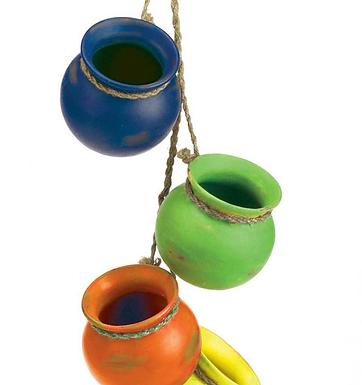 Fiesta Hanging Pots