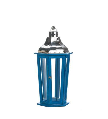 Azul Beach Medium Lantern