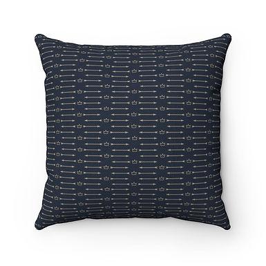 Arrow Crown Design 14x14 pillow cover