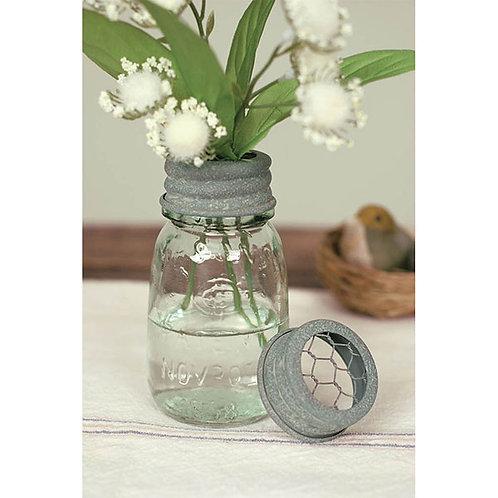 1/4 Pint Mason Jar Flower Frog - Box of 4