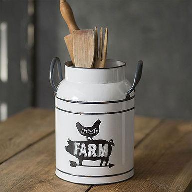 Fresh Farm Milk Can