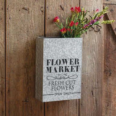 Flower Market Wall Pocket