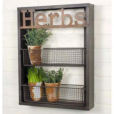 Herbs Wall Shelf
