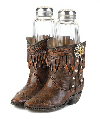 Cowboy Boots Shaker Set