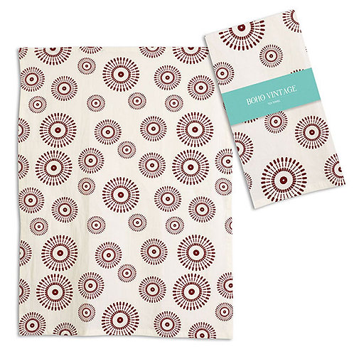 Ember Tea Towel - Box of 4