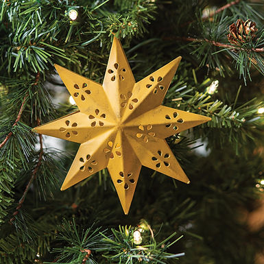 8 Point Star Ornament - Box of 4