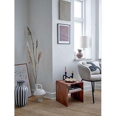 Acacia Wood Table with Shelf