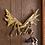 Thumbnail: Antler Wall Hooks Plaque