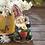 Thumbnail: Gardening Gnome Solar Garden Statue