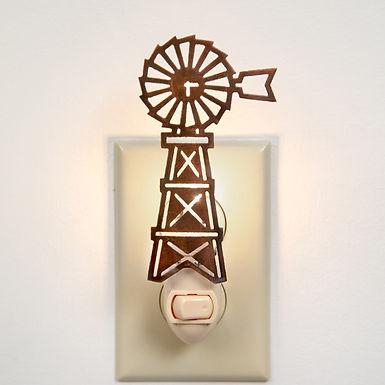 Farmhouse Windmill Night Light - Box of 4
