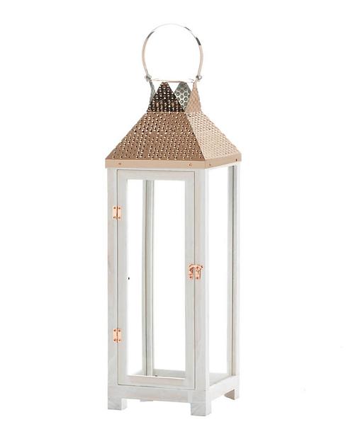 Hartford Large Wooden Lantern