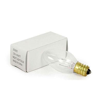4 Watt Clear Night Light Bulb - Box of 25