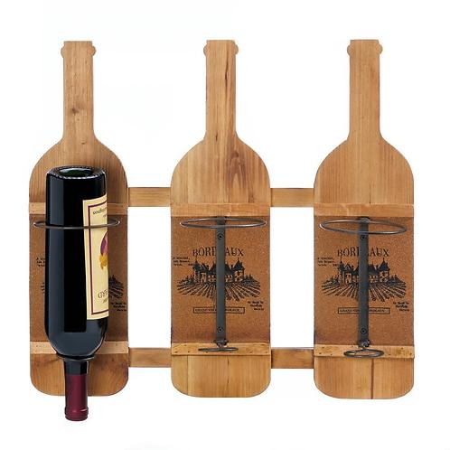 Bordeaux Wooden Wine Bottle Holder