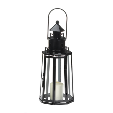 Black Lighthouse Lantern