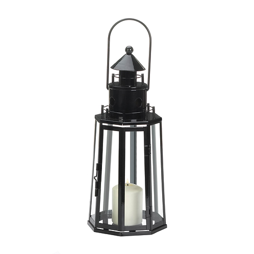 Black Lighthouse Lantern