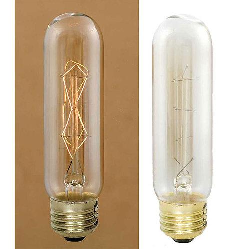 40 Watt 4 Vintage Style Stick Bulb With Diamond Filament