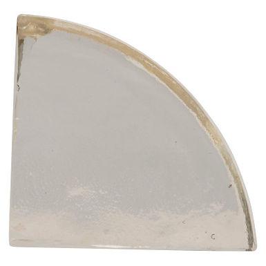 Geometric Glass Block Bookend