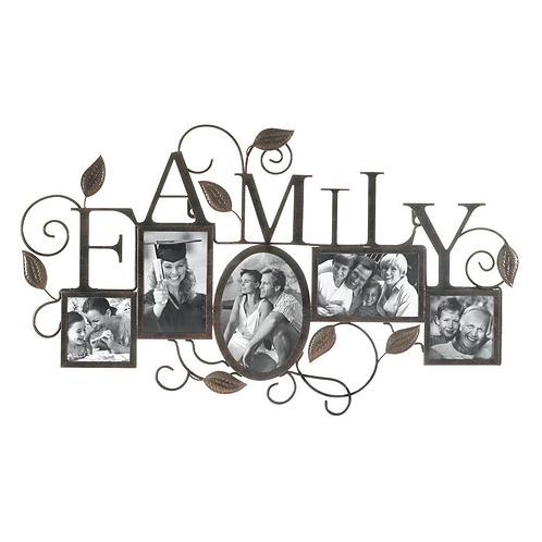 5-Photo� Family Wall Frame
