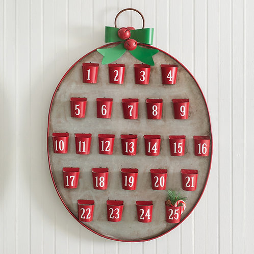 25 Days of Christmas Metal Advent Calendar