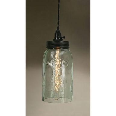 Big Mason Jar Pendant Lamp