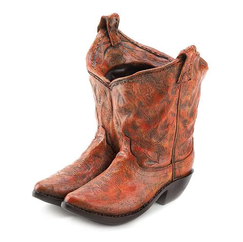 Cowboy Boot Planter