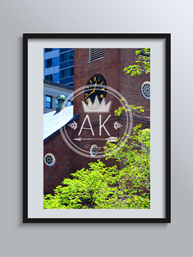 Clocktower Print