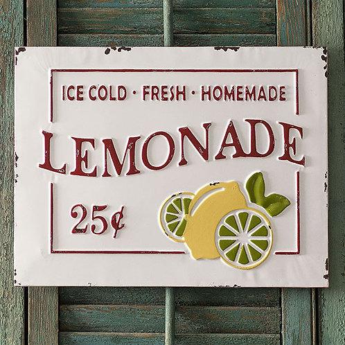 Lemonade Metal Sign