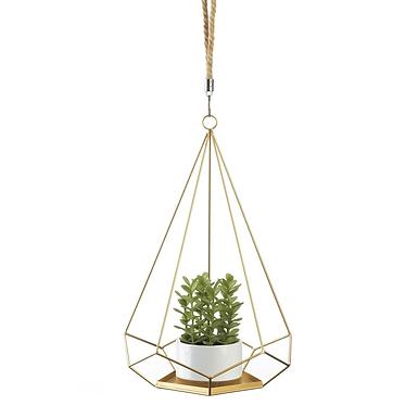 Hanging Prism Plant Holder