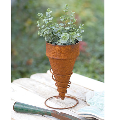 Ice Cream Cone Planter