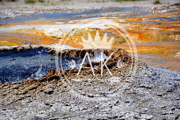 Geyser Water Print