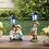 Thumbnail: Couple With Solar Street Light Statue