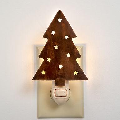 Christmas Tree Night Light - Box of 4