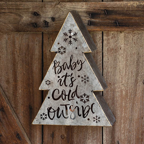 Baby It's Cold Outside Luminary