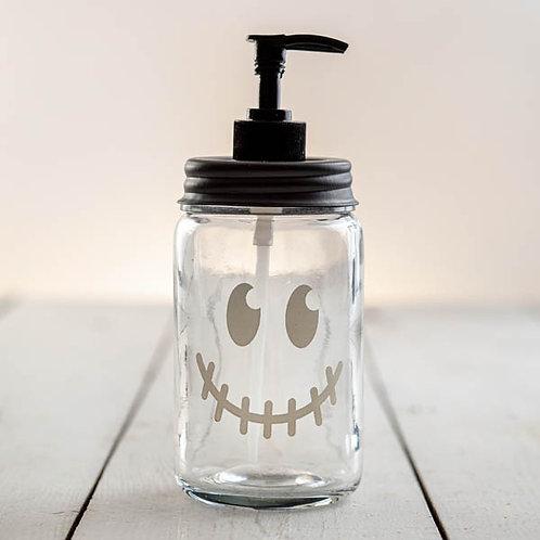 Jack-O'-Lantern Face Soap Dispenser